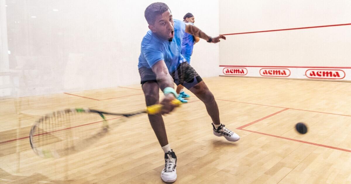 Arjun Raghavan - I train so I can play squah