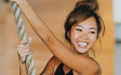 "Sheranne Wong: ""I train so I can strengthen my back"""