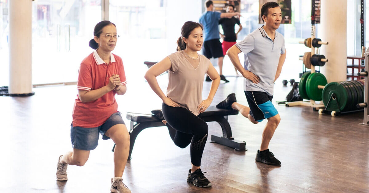 Xie Family - Personal Training at 50 years
