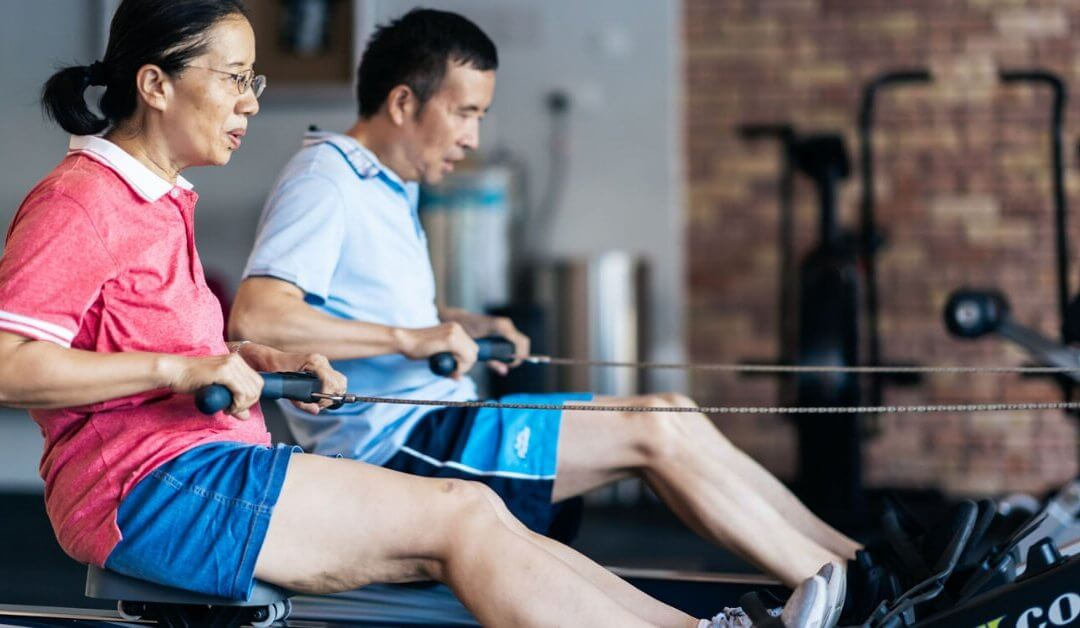 "Mr and Mrs Xie: ""We train so we can improve our mobility"""