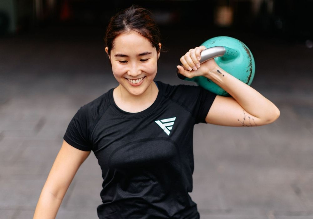 Are light weights better than heavy weights for women - Krystle