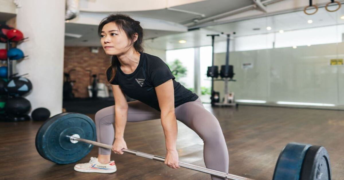 Is training with light weights better than heavy weights for women?- Sharlynn Ooi