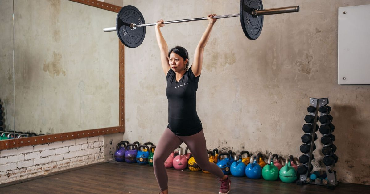 What would you say to a woman who's afraid to lift heavy? -Eva