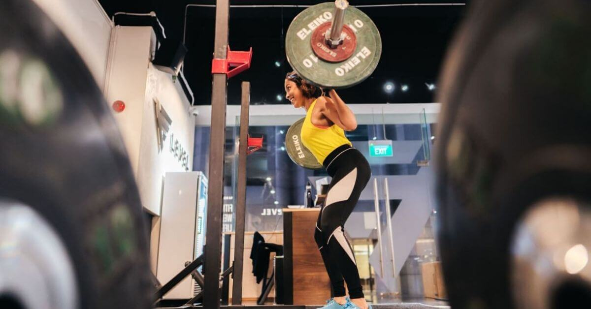 What would you say to a woman who's afraid to lift heavy? -Premi Streram
