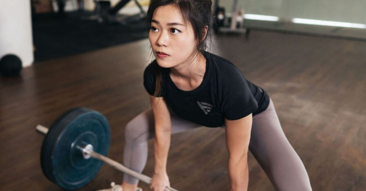 What would you say to a woman who's afraid to lift heavy? -Sharlynn Ooi
