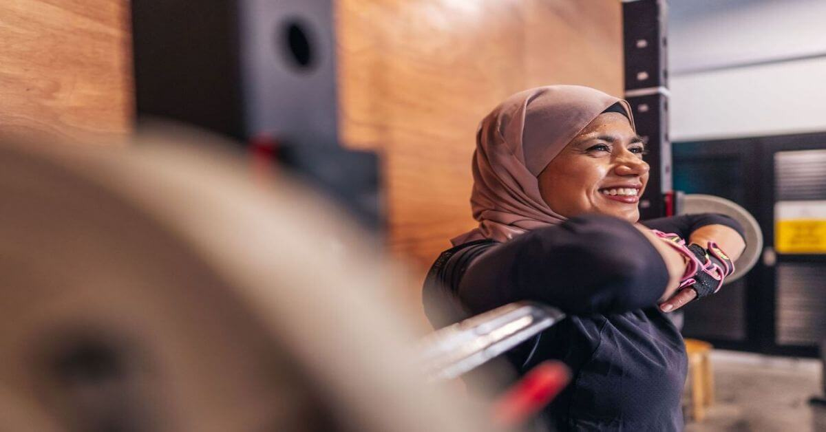 What would you say to a woman who's afraid to lift heavy? -Suraya Shulhameed