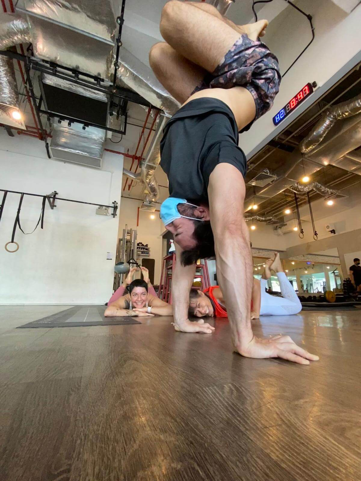 Client Stories: It Takes Two Hands...to Handstand