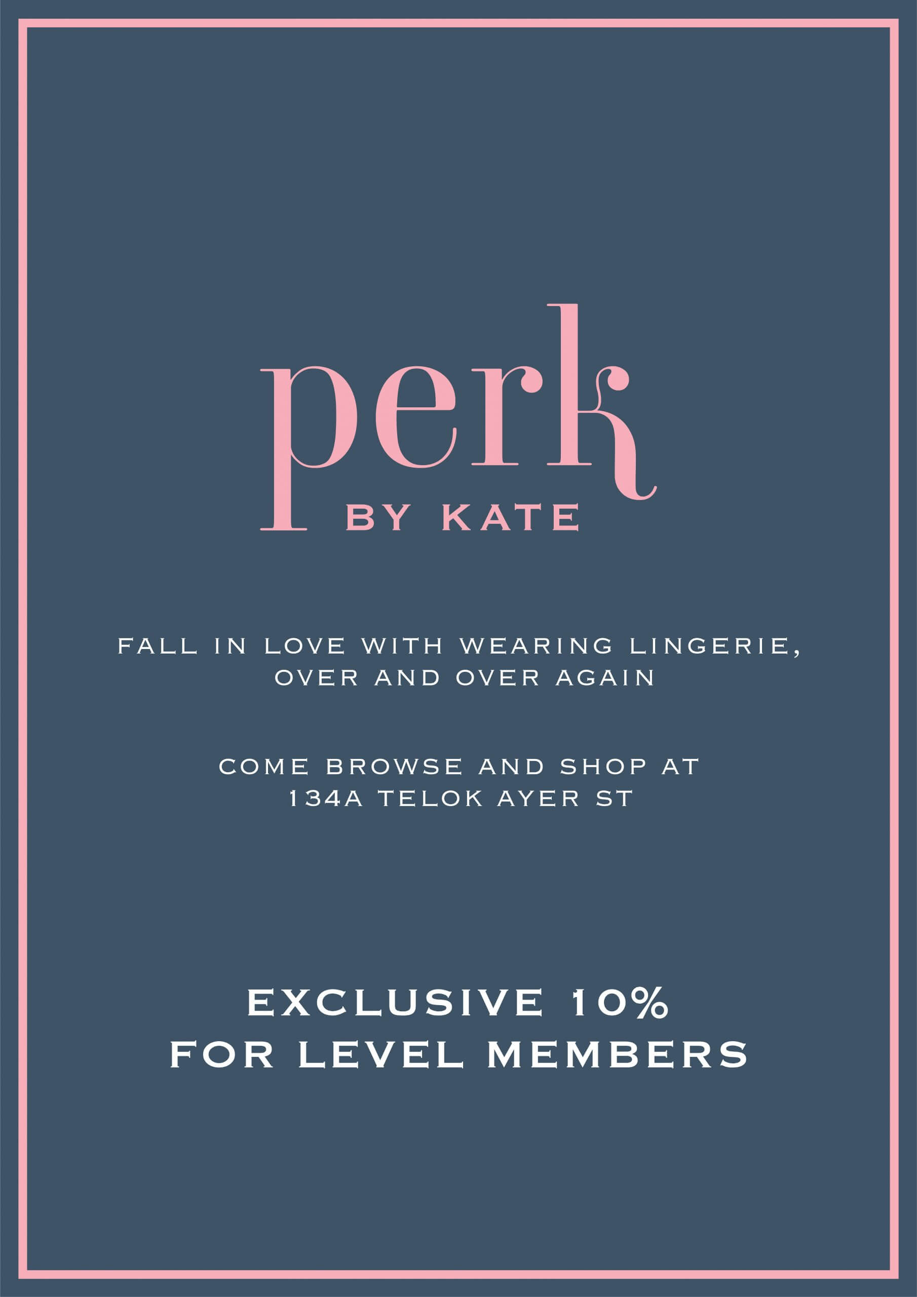 Perk by Kate for Level