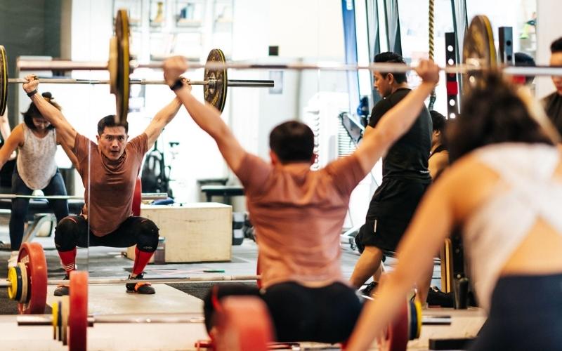 Daniel Tan Olympic Weightlifting