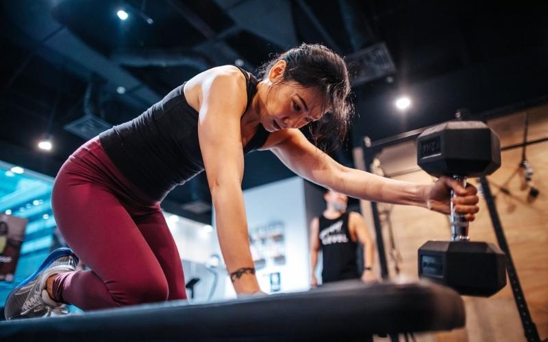 "Effi Jono: ""I train for better bone density and to prevent osteoporosis"""