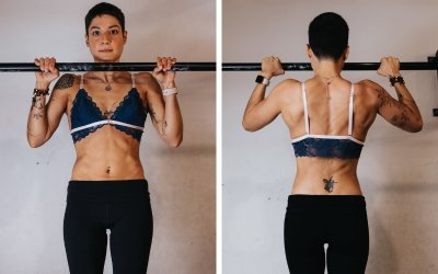 """Marcela Viola: """"I train to strengthen my core"""""""